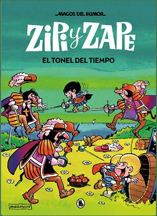 Zipi y Zape - El tonel del tiempo